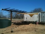 Rainwater Collection & Solar Panels