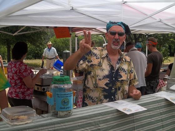 Texas River School Volunteers as Eeyore's Birthday Party